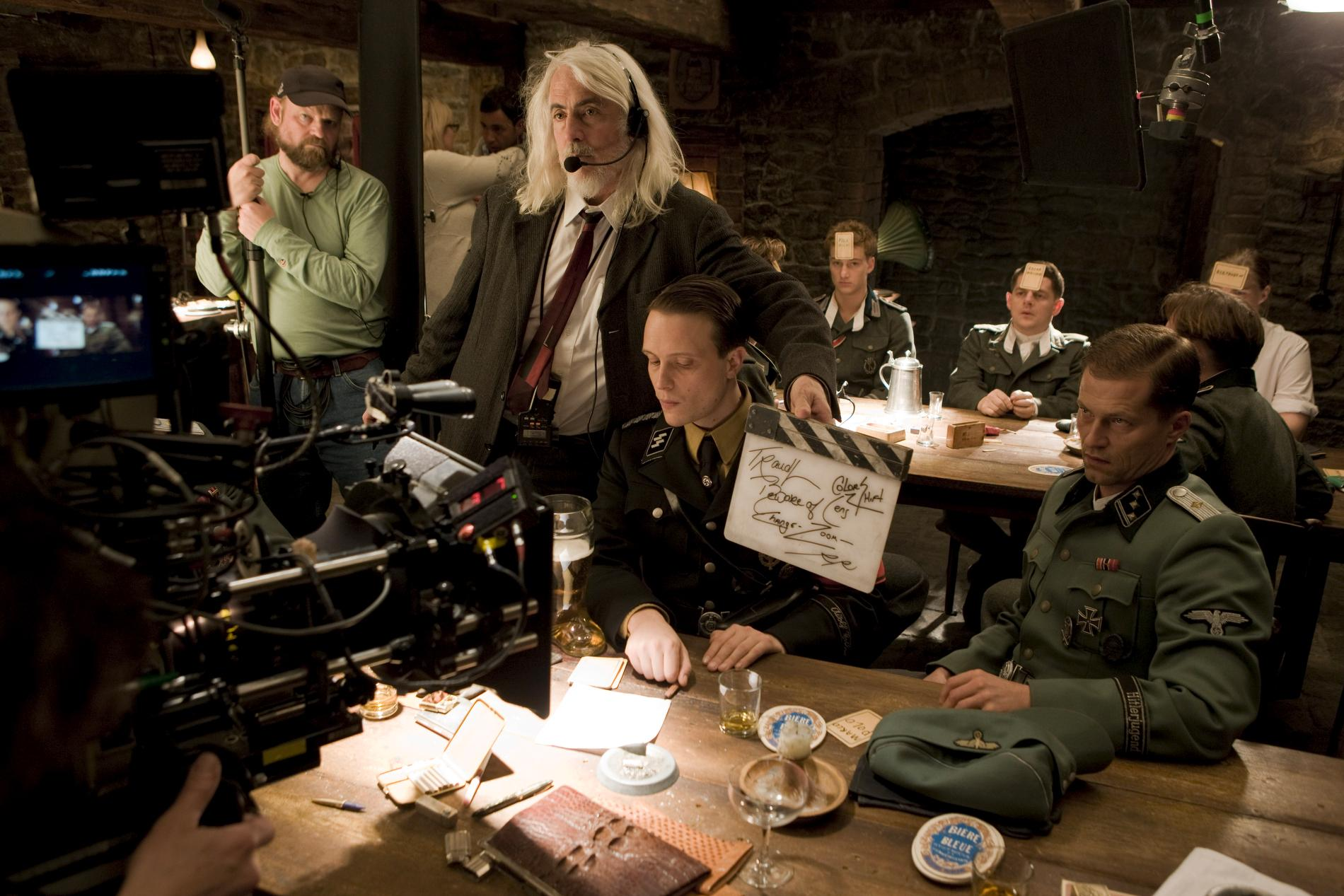 The set of INGLOURIOUS BASTERDS.