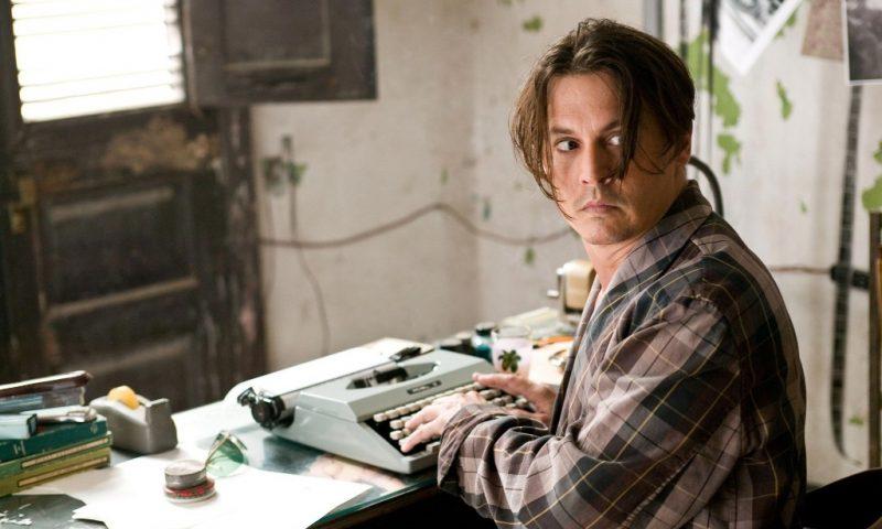 Джонни Депп, Johnny Depp, написание книги писателем