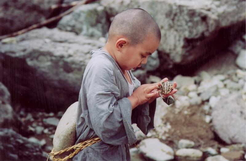 Джон-Хо Ким, Kim Jong-ho, мальчик с лягушкой