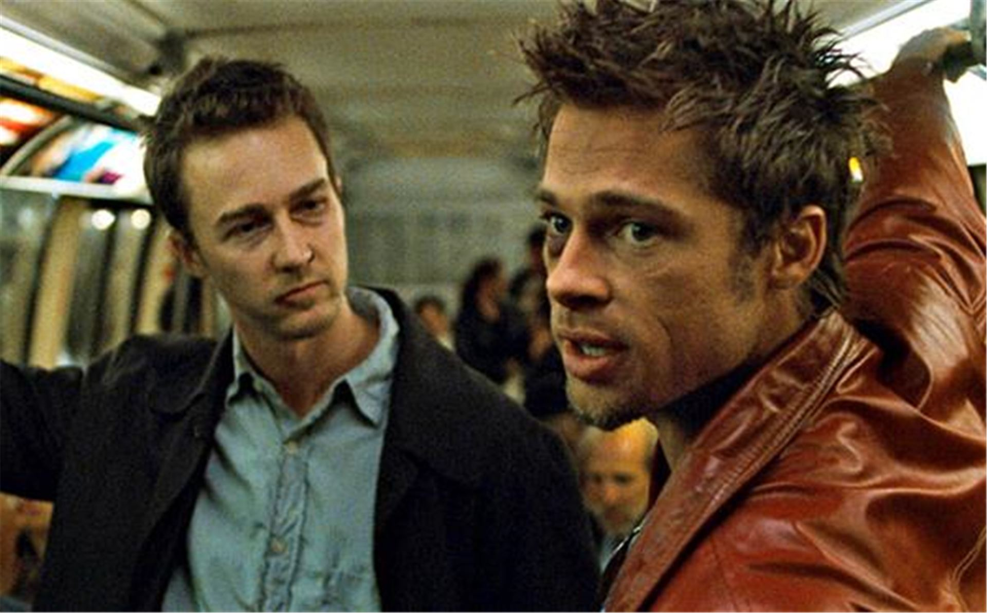 Брэд Питт, Brad Pitt, Tyler Durden, Тайлер, Эдвард Нортон, Edward Norton